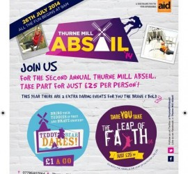 Join the Thurne Mill Abseil - Wind Energy Museum Norfolk - Join us!!